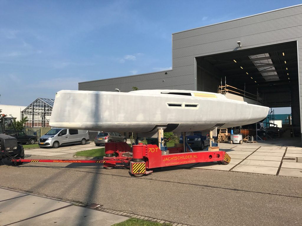 Agile 42 before paint