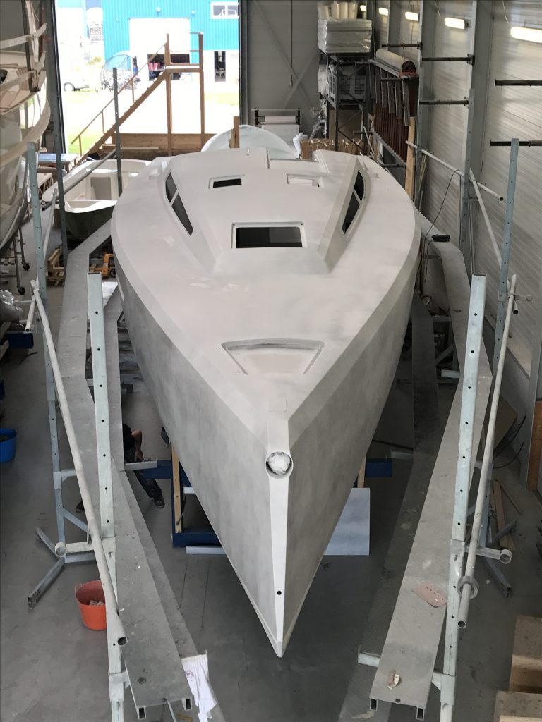 Agile 42 after paint
