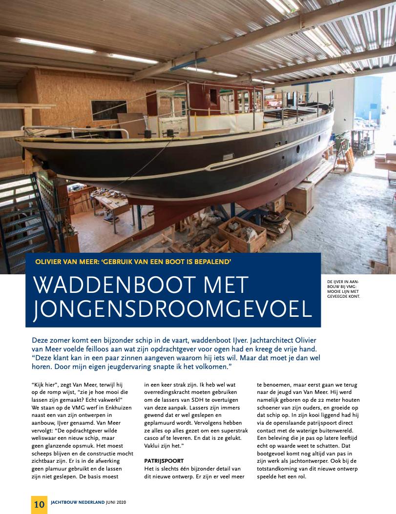 jachtbouw Nederland VMG Yachtbuilders